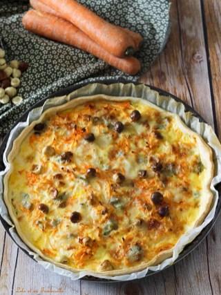 Tarte au carottes & gorgonzola (3)