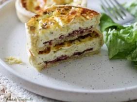 Tartelettes magret & crottin de chèvre (1)