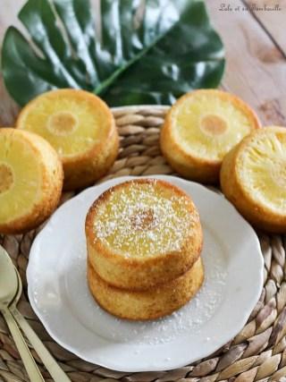 Gâteaux renversé à l'ananas (4)