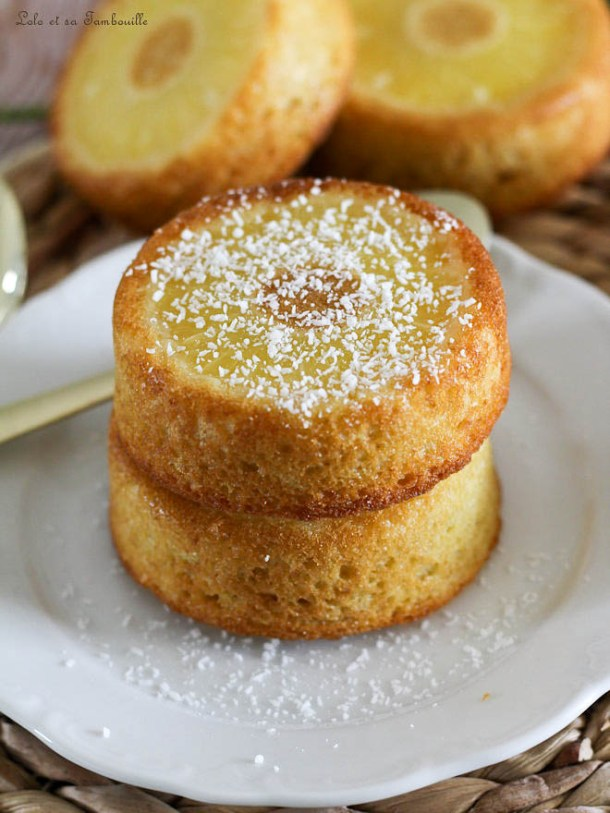 Gâteaux renversés à l'ananas