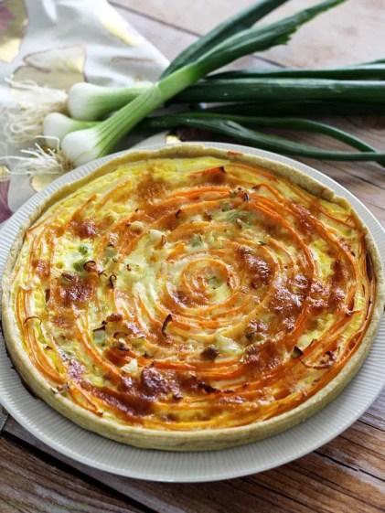 Tarte spirale aux carottes & comté (4)
