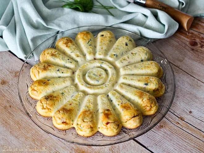 Clafoutis courgettes chorizo