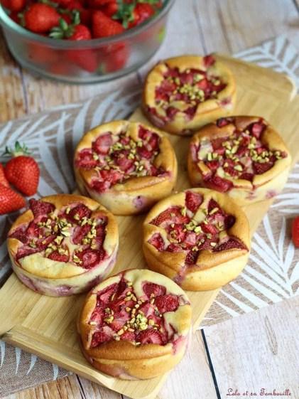 Gâteaux moelleux fraises & ricotta (2)