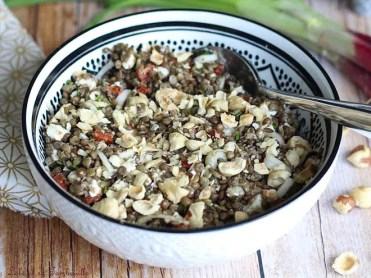 Salade de lentilles au chorizo & feta (5)