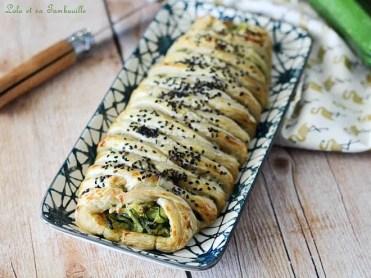 Tresse aux courgettes & saumon fumé (3)
