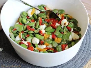Salade de fèves aux poivrons (1)