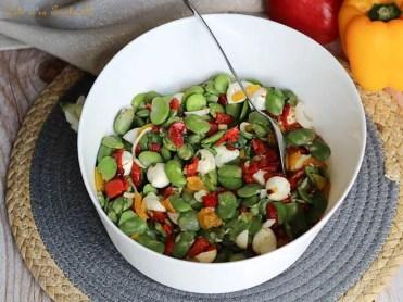 Salade de fèves aux poivrons (4)