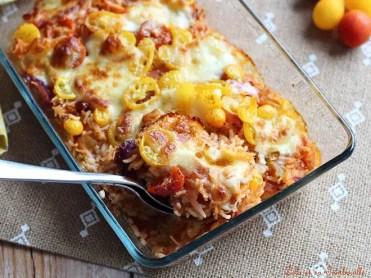 Gratin de tomates au riz (6)