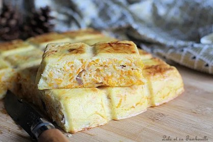 Quiche sans pâte carottes & lardons (6)