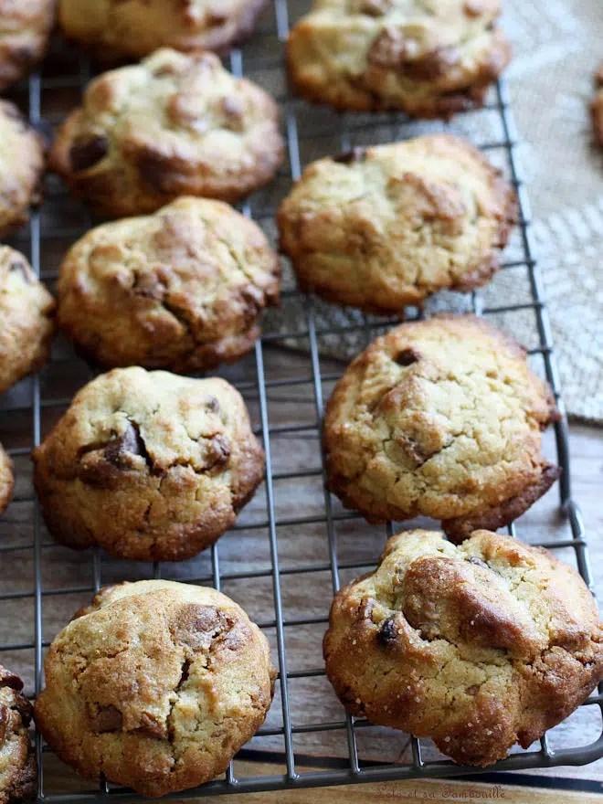 cookies avec de la pralinoise