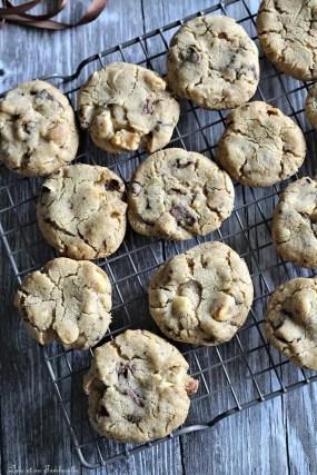 Cookies aux noix du brésil & chocolat (3)