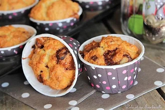 Muffins à la crème