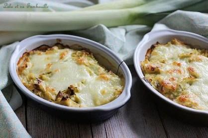Gratinée de ravioles aux poireaux (1)