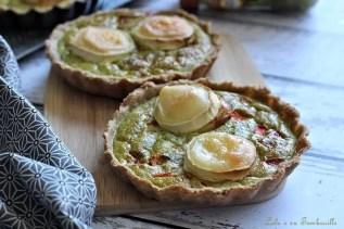 Tartelettes au pesto & chèvre (2)