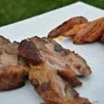 Jambonneau au barbecue