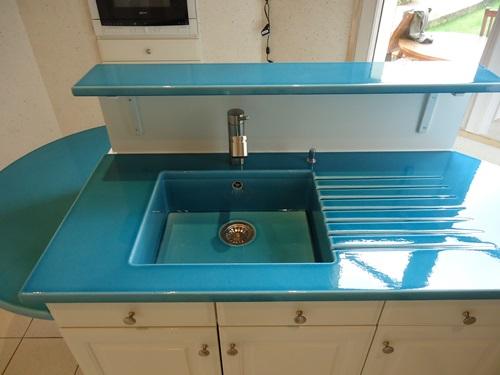 changer les plans de travail de sa cuisine cuisines. Black Bedroom Furniture Sets. Home Design Ideas