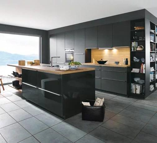 un ilot central dans votre cuisine