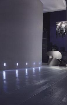 Spot LED DOM Pour Balisage De Plinthe Ou Escalier