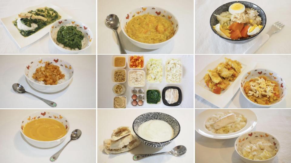repas pour la famille batch cooking