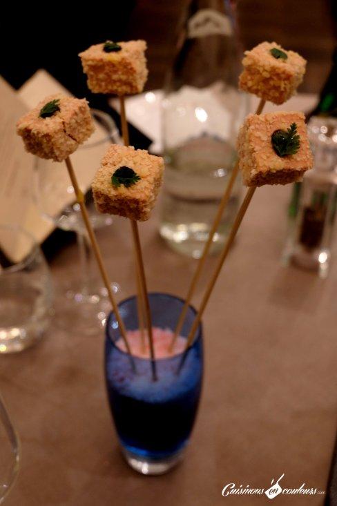 Sucettes de foie gras - 16 Haussman