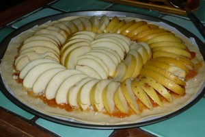 Tarte aux pommes à ma façon 2