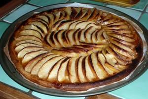 Tarte aux pommes à ma façon 4