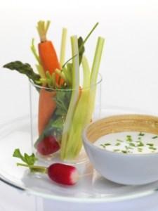 Fraîcheur de Reblochon aux légumes croquants