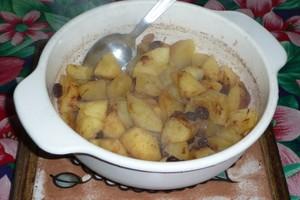 Pommes aux raisins secs 2