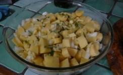 Pommes de terre aux lardons 1