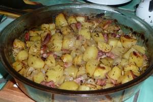 Pommes de terre aux lardons 3