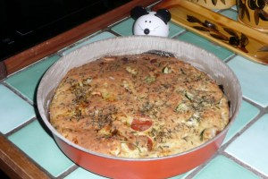 Quiche sans pâte au tofu soyeux 6
