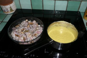 Gratin de fruits de mer au tofu soyeux 2