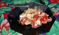 Gratin de tomates au Boursin 6