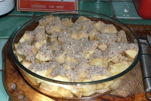 Gratin de pommes au citron (2)