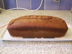 cake au kakis et amandes