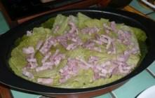 Chou vert frisé en gratin (3)
