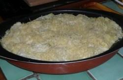Chou vert frisé en gratin (6)