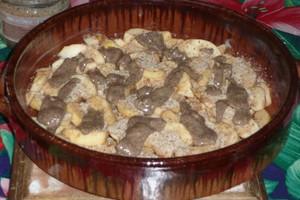 Gratin de pommes à la purée de noisettes (2)