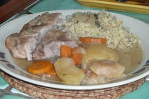 Rouelle de porc au miel et au cidre (5)