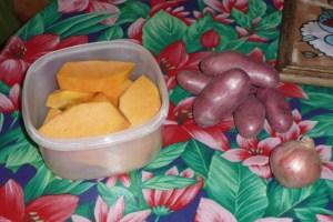 Gratin de courge et pommes de terre (1)
