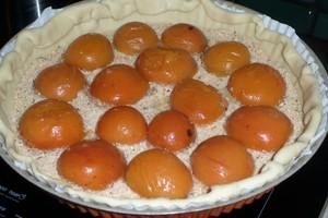Tarte aux abricots noisette amande (1)