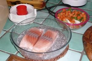 Gratin de saumon express (1)