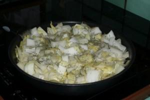 Quiche aux endives, aux pommes et au thon (1)