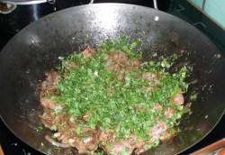 Sauté de canard à la sauce d'huître (8)