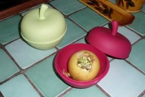 Pommes en papillote (2)