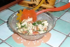 Salade de pommes de terre à l'orange