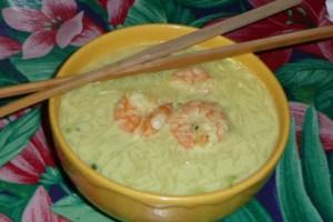 Soupe de crevettes au lait de coco (3)