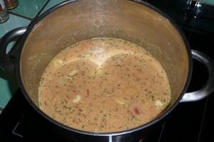 Soupe de lentilles corail à la tomate (1)