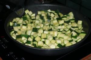 Tarte à la courgette, mozzarella, parmesan (2)