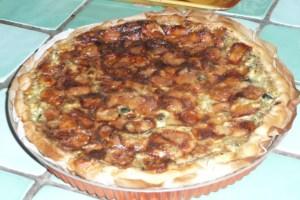 Tarte à la courgette, mozzarella, parmesan (6)